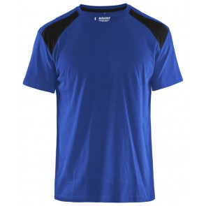 Blåkläder 3379-1042 T-shirt Bi-Colour Korenblauw/Zwart