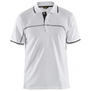 Blåkläder 3389-1050 Poloshirt Wit/Donkergrijs