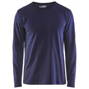 Blåkläder 3500-1042 T-shirt lange mouw Marineblauw