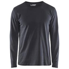 Blåkläder 3500-1042 T-shirt lange mouw Donkergrijs