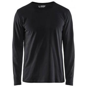 Blåkläder 3500-1042 T-shirt lange mouw Zwart