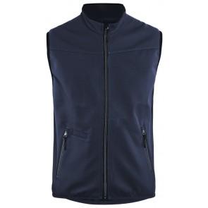Blåkläder 3850-2516 Softshell Bodywarmer Donker marineblauw/Zwart