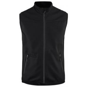 Blåkläder 3850-2516 Softshell Bodywarmer Zwart/Grijs