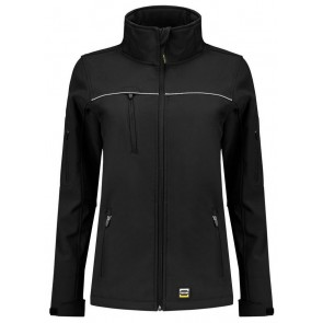 Tricorp 402009 Softshell Luxe Dames Zwart