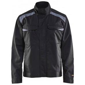 Blåkläder 4054-1210 Industriejack Ongevoerd Zwart/Grijs