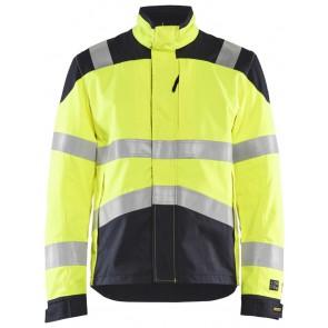 Blåkläder 4089-1512 Multinorm Jack Geel/Marineblauw