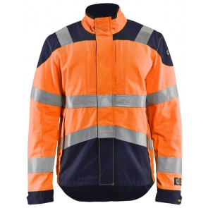 Blåkläder 4089-1513 Multinorm inherent jack High Vis Oranje/Marineblauw