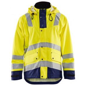 Blåkläder 4302-2003 Regenjas Heavy Weight Geel/Marineblauw