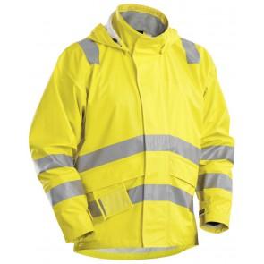 Blåkläder 4303-2009 Vlamvertragende Regenjas Geel