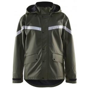 Blåkläder 4305-2003 Regenjas Army Groen