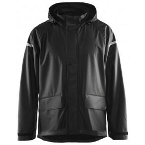 Blåkläder 4311-2000 Regenjas Level 1 Zwart
