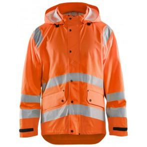 Blåkläder 4323-2000 High Vis Regenjas Level 1 Oranje