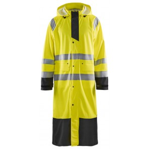 Blåkläder 4325-2000 Regenjas High Vis Geel/Zwart