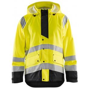 Blåkläder 4327-2005 Regenjas High Vis Level 3 Geel/Zwart