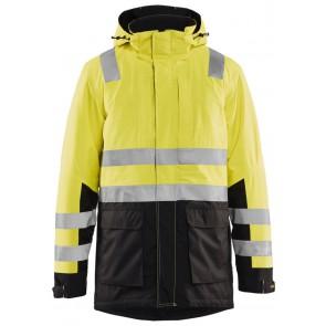 Blåkläder 4495-1987 High Vis parka Geel/Zwart