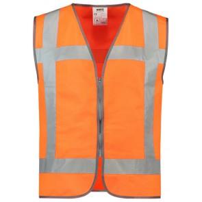Tricorp 453019 Veiligheidsvest RWS Rits Fluor Oranje