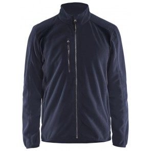 Blåkläder 4730-2510 Fleecejack Donker marineblauw/Zwart