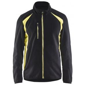 Blåkläder 4730-2510 Fleecejack Zwart/Geel