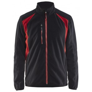 Blåkläder 4730-2510 Fleecejack Zwart/Rood