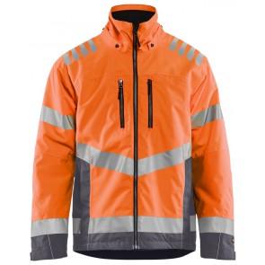 Blåkläder 4780-1977 High Vis Winterjas Oranje/Marineblauw