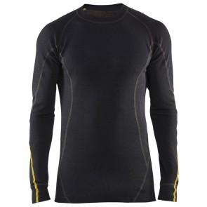 Blåkläder 4794-1075 Vlamvertragend Onderhemd Zwart