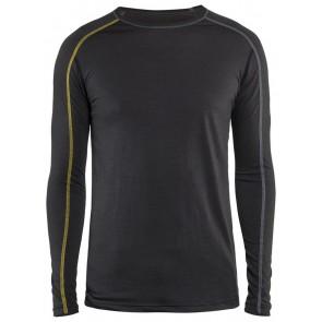 Blåkläder 4799-1734 Onderhemd XLIGHT Donkergrijs/Geel