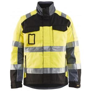 Blåkläder 4851-1811 Winterjas High Vis Geel/Zwart
