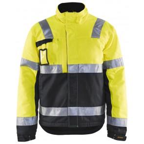 Blåkläder 4862-1811 Winterjas High Vis Geel/Zwart
