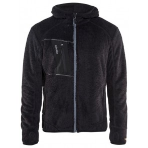 Blåkläder 4863-2502 Pilé vest Zwart/Zilver