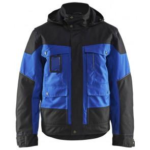 Blåkläder 4886-1977 Winterjas Korenblauw/Zwart