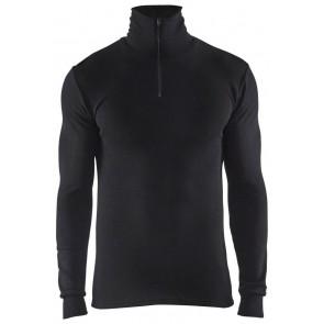Blåkläder 4891-1705 Warm Rolkraag onderhemd Zwart