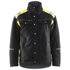 Blåkläder 4915-1370 Visible Winterjas Zwart/Geel