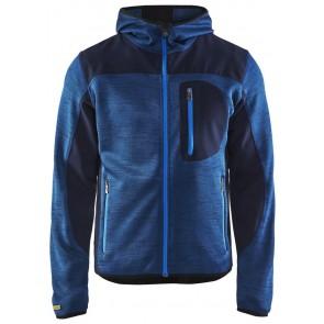 Blåkläder 4930-2117 Gebreid vest met softshell Marineblauw/Marineblauw