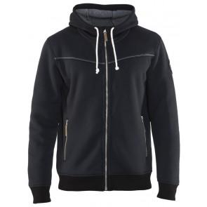 Blåkläder 4933-2514 Hoodie met warme voering Zwart
