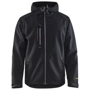 Blåkläder 4949-2517 Softshell Jack Zwart/Zilver