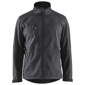 Blåkläder 4950-2516 Softshell Jack Grijs/Zwart