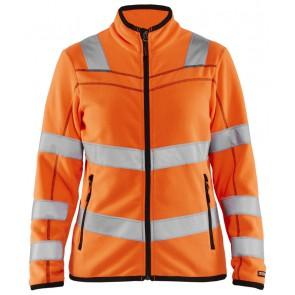 Blåkläder 4966-1010 Dames Microfleecevest High Vis Oranje