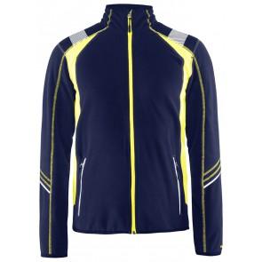 Blåkläder 4993-1010 Microfleecevest Visible Marineblauw/Geel