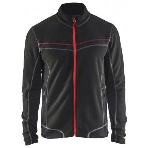 Blåkläder 4997-1010 Microfleecevest Zwart