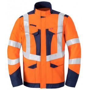 Havep 50247 Korte jas/Vest Fluo Oranje/Marine
