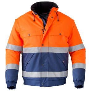 Havep 5139 All season jack Marine/Fluo Oranje