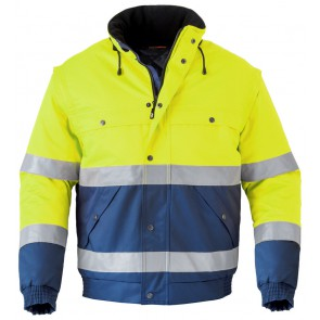 Havep 5139 All season jack Marine/Fluo Geel
