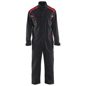 Blåkläder 6054-1800 Overall Industrie Zwart/Rood