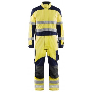 Blåkläder 6089-1512 Multinorm Overall Geel/Marineblauw