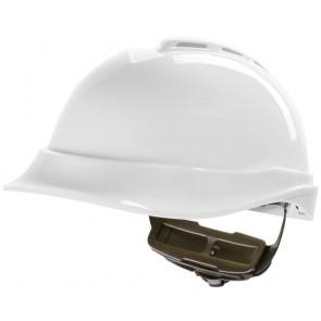 MSA V-Gard 200 veiligheidshelm met Fas-Trac III binnenwerk (GV612) wit
