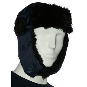 Siberia wintermuts marineblauw