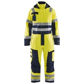 Blåkläder 6368-1530 Multinorm Winteroverall Geel/Marineblauw