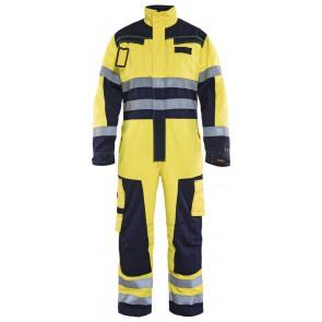 Blåkläder 6378-1514 Multinorm overall Geel/Marineblauw