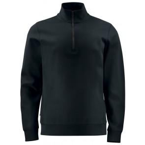 Projob 2128 Sweatshirt Met Halve Ritssluiting Zwart