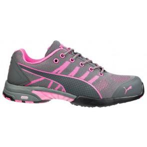 Puma Celerity Knit Pink Wns Low S1 HRO SRC Dames Werkschoen